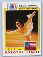 1983  DOROTHY HAMILL - Topps GREATEST OLYMPIANS Card # 6 - ICE SKATING