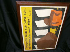 BERTOLT BRECHT QUOTE VINTAGE RARE PRINT A MI AMIGO SPANISH METZIE 75 ART SIGNED
