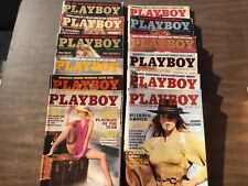PLAYBOY Magazine Full Year Set 1984 All 12 Issues. Complete Collection. Nude Lot
