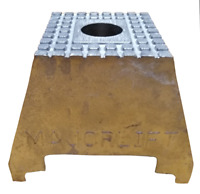 Aluminium 95mm Raiser Block Suitable For Majorlift Jacking Beams Riser 1527A