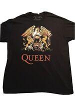 G0577 Queen Rock Band Big Logo Tour Concert Graphic T-Shirt Size XL