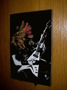 Dave Mustaine Wall Plaque  by Rock Legends Wall Art