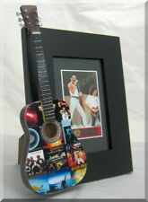BRIAN MAY  Miniature Guitar Frame QUEEN Album Covers