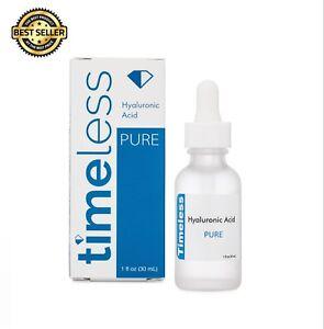 Timeless Skin Care Hyaluronic Acid Serum 100% Pure 30ml 1oz - BRAND NEW!