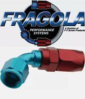 Fragola 226008 8 AN Aluminum 60 Degree Socket Style Hose Fitting IMCA USRA NHRA