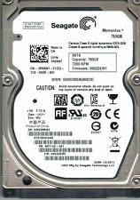 "Seagate Momentus 750GB,Internal,7200RPM,2.5"" (ST9750420AS) HDD"