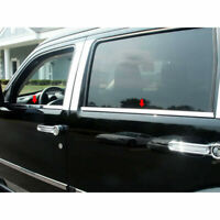 fit:2007-2011 Dodge Nitro 4Pc Window Sill Trim Accent Overlay Stainless Steel