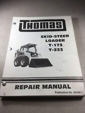 Thomas T-173, T-233 Skid Steer Loader Service-Repair Manual