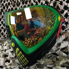 NEW Dye Invision I4 Thermal Anti-Fog Paintball Goggle Pro Mask - Rasta