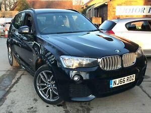 66 BMW X3 3.0 XDRIVE 30D M SPORT STEP, 1 OWNER CAR, LONG MOT, MEGA HISTORY