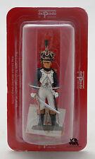 Figurine Collection Del Prado Officier Tirailleurs Chasseurs Jeune Garde 1810