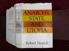 ROBERT NOZICK: ANARCHY, STATE, & UTOPIA/ANARCHISM/SCARCE 1974
