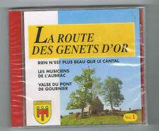 LA ROUTE DES GENETS D'OR - VOL. 1 - CD 15 TRACKS - NEUF NEW NEU
