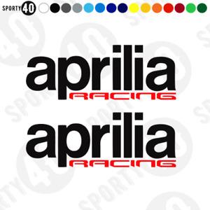 APRILIA Racing Stickers Vinyl Decal SMALL Aprilia SR RS V4 APRC RR RF 7307-0119