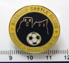 Barnard Castle Glaxo Football Club Enamel Badge - Non League Football Clubs -
