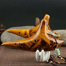 12 Hole Legend Zelda Ocarina of Time Alto C Smoldering Ceramic Flute Ocarina AC