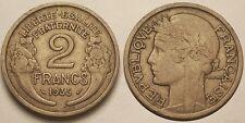2 Francs Morlon 1935, TTB, Assez rare !!