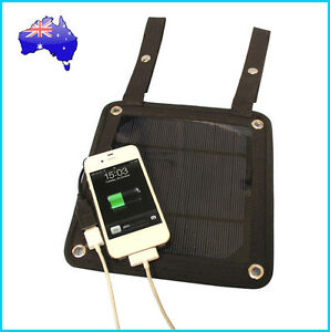 Brand New 3W Portable Solar Panel Pack / Mobile Charger