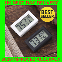 Digital Temperature Humidity Meter Sensor Thermometer  Gauge LCD Hygrometer Room