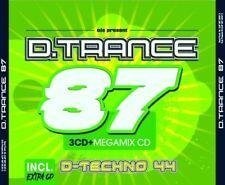 D.TRANCE VOL.87 (INCL.D.TECHNO 44)  4 CD NEU