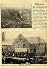 El más antiguo y más pequeño parlamento del mundo (Isla de Man a Liverpool) 1905