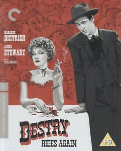 DESTRY RIDES AGAIN (1939) dir: George Marshall / Blu-ray Criterion / Mint as new