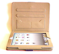 Faux Leather Case For Apple IPAD 2 3 4 Bumper Cover Flip Stand
