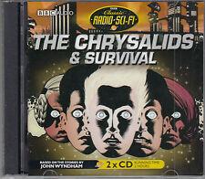 John Wyndham The Chrysalids & Survival 2CD Audio Book BBC Radio Full Cast Drama