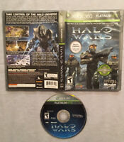 Halo Wars (Microsoft Xbox 360, 2009) TESTED & WORKS! Platinum Hits! Good Shape!