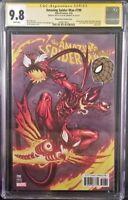 MARVEL Comic SPIDER-MAN 799 CGC SS 9.8 Mcguinness Sketch Remark RED GOBLIN VENOM