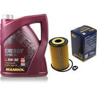 Ölwechsel Set 5L MANNOL Energy Combi LL 5W-30 + SCT Ölfilter Service 10164327