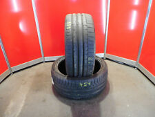 2x Sommerreifen Continental 245/35 R19 93Y XL SportCon6 DOT 17 ca. 6 mm (454)