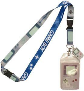 Nintendo Game Boy Lanyard With Rubber Game Boy Charm
