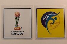 FIFA Club World Cup UAE 2017 & FIFA Football for Hope Sleeve Badge Patches