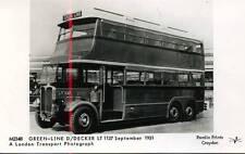Pamlin repro photo postcard M2348 Green Line Type LT Bus 1931