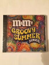M&M's Groovy Summer Songs CD 2003 NEW Sealed Original Artists 15 Songs