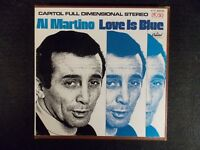 Love Is Blue by Al Martino (Live) (4-Track 3 3/4 IPS Tape, Capitol Y1T 2908)