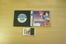 Bubblegum Crash Knight Sabers jeu pc engine Hucard import JAP complet