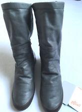 SOFTINOS DA. STIEFEL FOLA smooth leather Gr.40 Grau NEU
