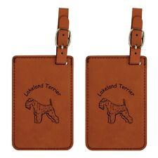 L3494 Lakeland Terrier Luggage Tags 2Pk Free Shipping