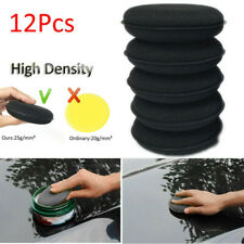 12pcs High Density Car Waxing Polish Foam Sponge Detailing Applicator Pad Tool
