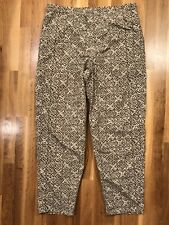 North Face Women's Natural Print Windbreaker Jogger Pants Size Medium