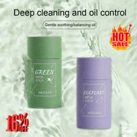 1x Green Tea Clean Face Mask Stick Clean Pores Dirt Moisturizing Whitening Care
