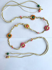 Unbranded Beaded Floral Belts for Women