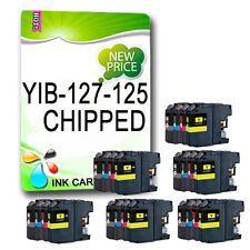 24 Chipped Ink Cartridge Replace For Brother MFC-J4610DW MFC-J4710DW LC127 LC125