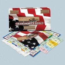 Obama Monopoly Obamanopoly Collector's Limited 1st Edition NIB Sealed
