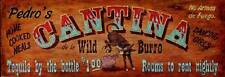 New! Cantina by Red Horse Signs Fine Western Art Print Home Wall Decor 739064