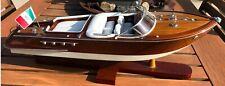 Speedboat Model Riva Aquarama Wooden Runabout