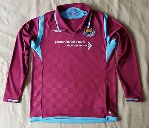 "West Ham Home Football Shirt Umbro 2009 2010 Med Boys 34"" 146cm Bobby Moore"
