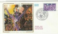 France 1982 Grenoble Jacques Gauthier Slogan Cancel FDC Stamps Cover Ref 26822
